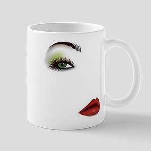 Womans Face Mugs