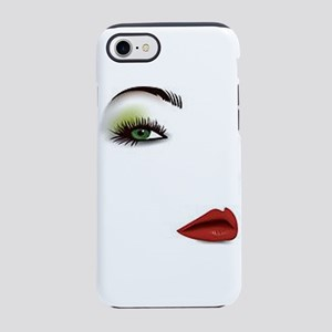 Womans Face 7 Iphone 8/7 Tough Case