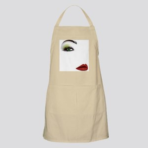 Womans Face Light Apron