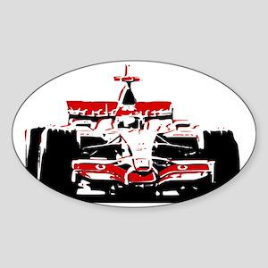 F 1 Sticker (Oval)