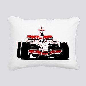 F 1 Rectangular Canvas Pillow