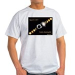 Franklin KY Solar Eclipse Light T-Shirt