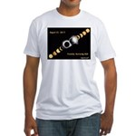 Franklin KY Solar Eclipse Fitted T-Shirt