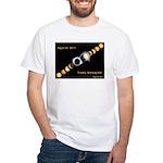 Franklin KY Solar Eclipse White T-Shirt