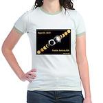 Franklin KY Solar Eclipse Jr. Ringer T-Shirt