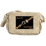 Franklin KY Solar Eclipse Messenger Bag