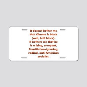 Bothers Aluminum License Plate
