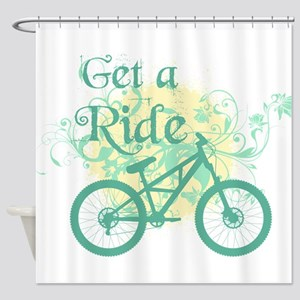 Get a ride Shower Curtain