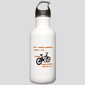 BMX Bike Stainless Water Bottle 1.0L
