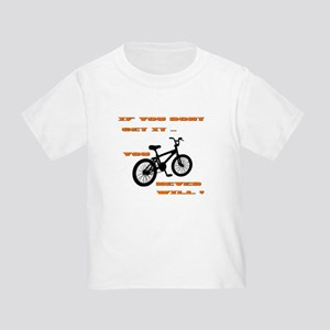 BMX Bike Toddler T-Shirt