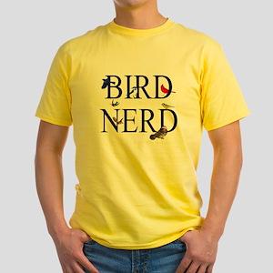 Bird Nerd Yellow T-Shirt
