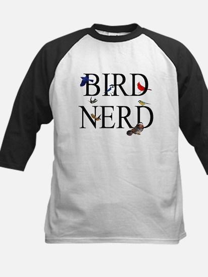 Bird Nerd Kids Baseball Jersey