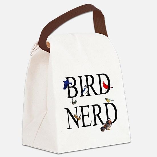 Bird Nerd Canvas Lunch Bag