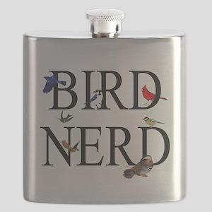 Bird Nerd Flask