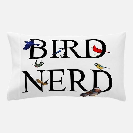 Bird Nerd Pillow Case