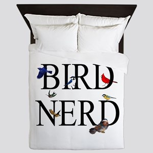 Bird Nerd Queen Duvet