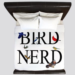 Bird Nerd King Duvet