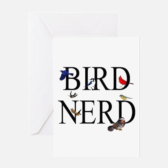 Bird Nerd Greeting Card