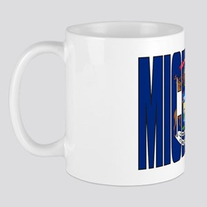 Michigan Flag Mug