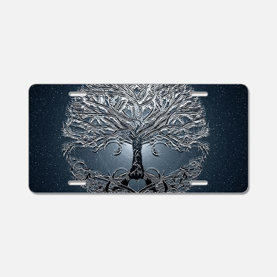 Tree of Life Nova Aluminum License Plate
