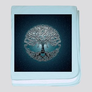 Tree of Life Nova baby blanket