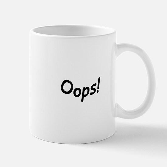 crazy oops Mugs