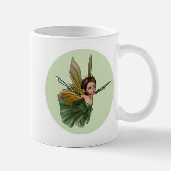 Flying Little Fairy Butterfly Mugs