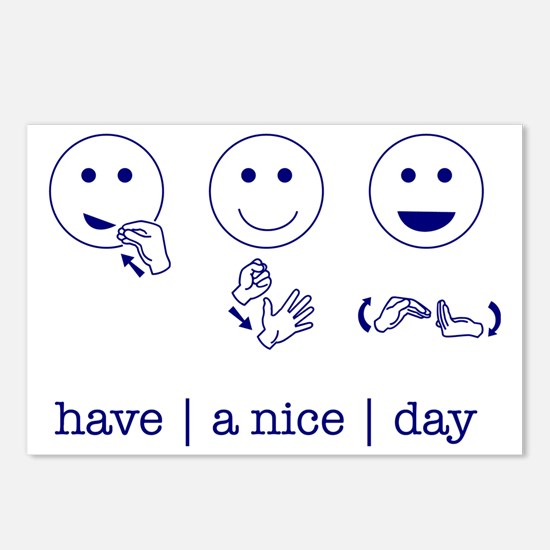 f_niceday Postcards (Package of 8)