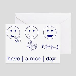 f_niceday Greeting Card