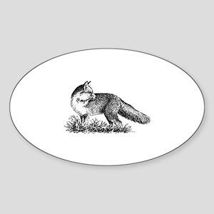 Red Fox (illustration) Sticker