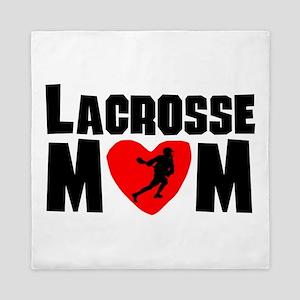 Lacrosse Mom Queen Duvet