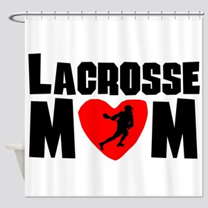 Lacrosse Mom Shower Curtain