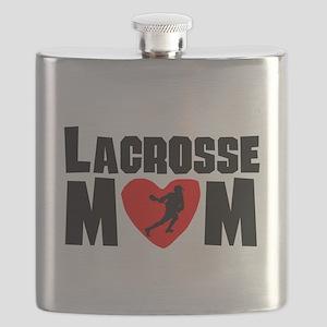 Lacrosse Mom Flask