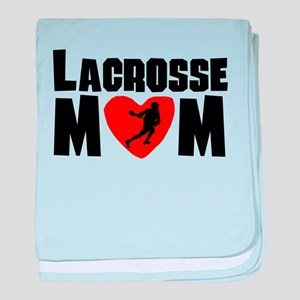 Lacrosse Mom baby blanket