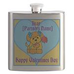 customisable valentines card Flask