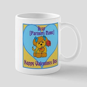 customisable valentines card Mugs