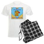 customisable valentines card pajamas