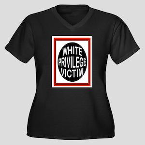 PRIVILEGE VICTIM Plus Size T-Shirt