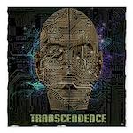 transcendence Square Car Magnet 3