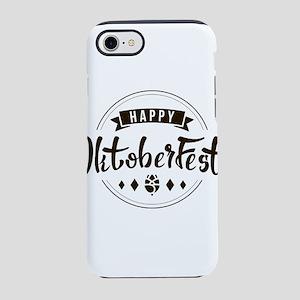 Happy OctoberFest Modern Typog iPhone 7 Tough Case