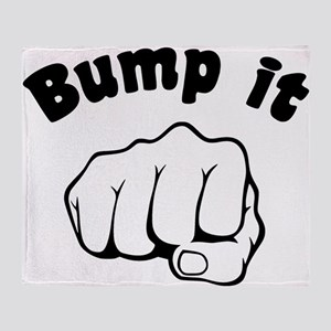 Fist Bump It Throw Blanket