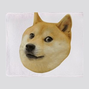 Doge Very Wow Much Dog Such Shiba Shibe Inu Throw