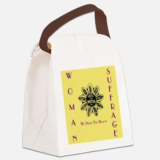 Cool Feminism Canvas Lunch Bag