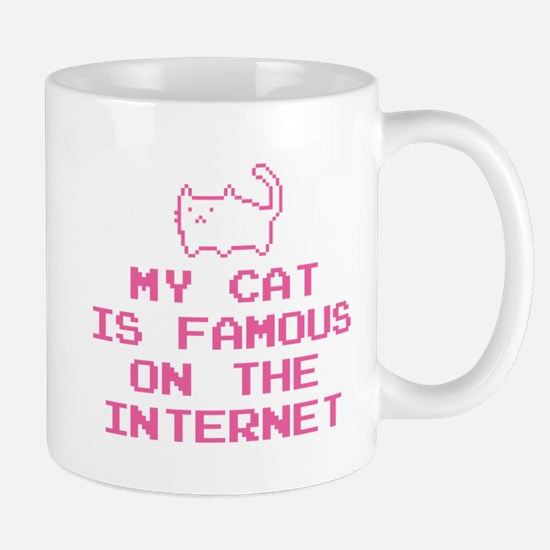 My Cat Is Famous On The Internet Mug