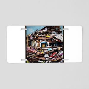 Fixer Upper Aluminum License Plate