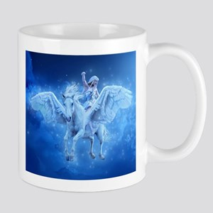 Blue Pegasus Mugs