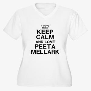 Keep Calm Love Peeta Plus Size T-Shirt
