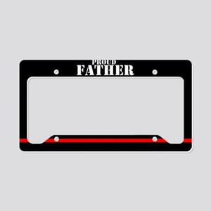 Fire And Rescue License Plate Holder