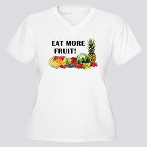 Eat More Fruit Plus Size T-Shirt