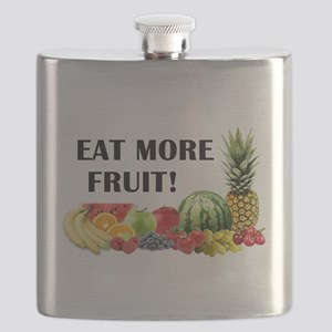 Eat More Fruit Flask